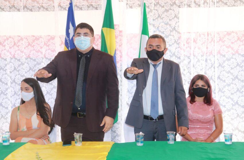 Italo Alencar é empossado prefeito de Agricolândia