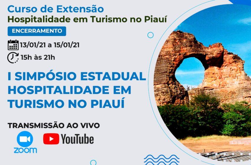 UFPI inicia Simpósio de Hospitalidade em Turismo nesta quarta-feira(13)