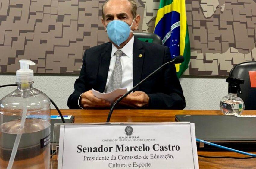 Marcelo Castro preside o lançamento da Agenda Legislativa pela Educação no Senado