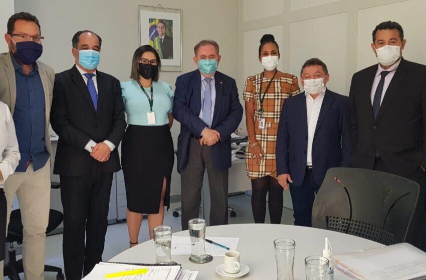 Gestores de Planejamento e de Saúde de Teresina participam de reunião no Ministério da Saúde