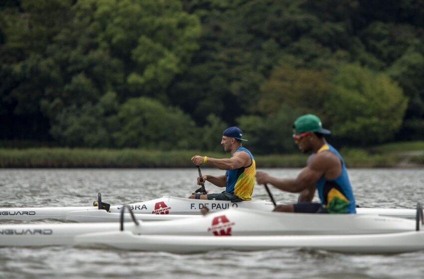 O Piauiense Luiz Carlos representa o Brasil na canoagem na Paralimpíada de Tóquio