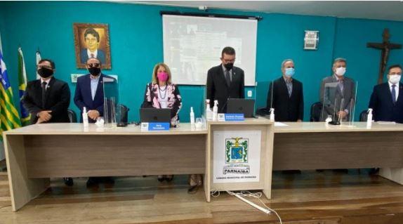 Vereadores de Parnaíba homenageiam o Presidente do Banco do Nordeste