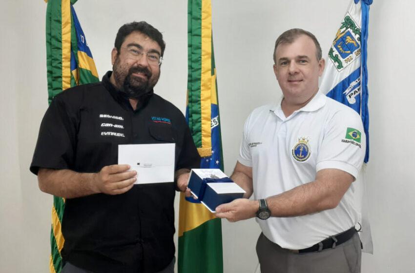 Marinha do Piauí recebe doação de píer flutuante
