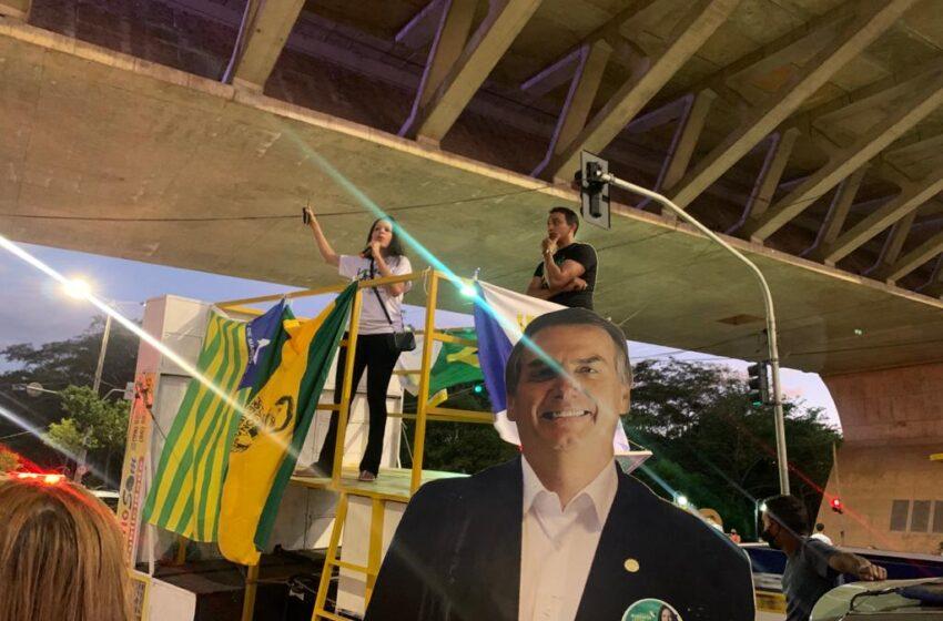 Manifestantes fazem atos a favor de Bolsonaro e do voto auditável