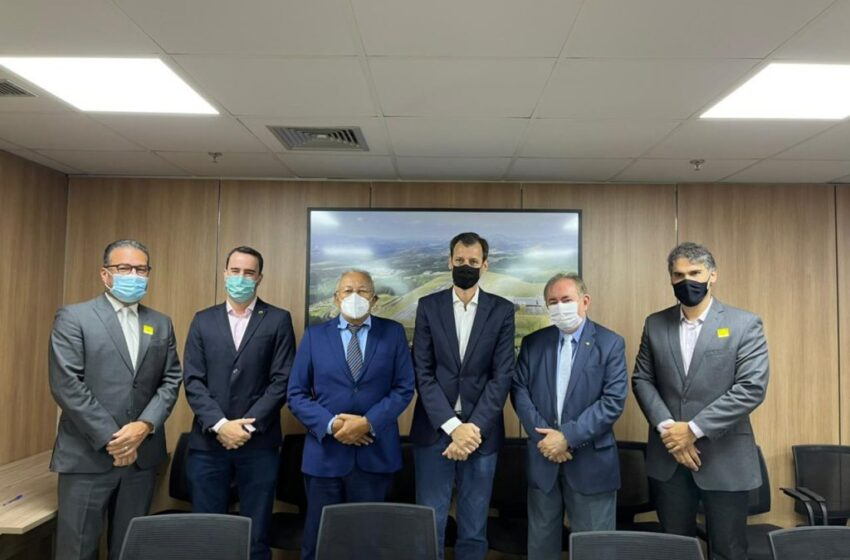 Doutor Pessoa discute verticalização de Teresina na Secretaria Nacional de Aviação Civil