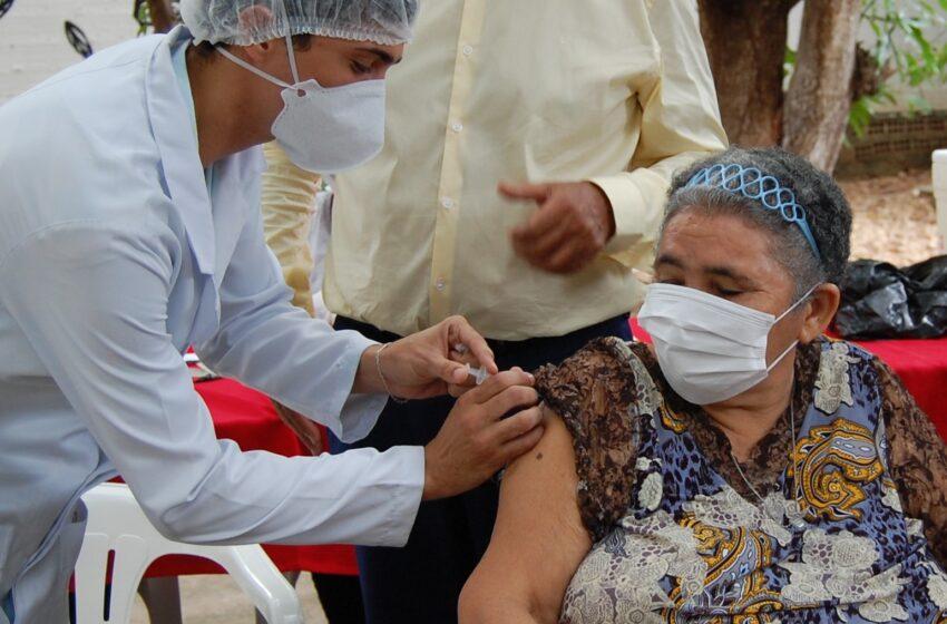 Teresina inicia reforço da vacinação dos idosos nesta segunda-feira(27)