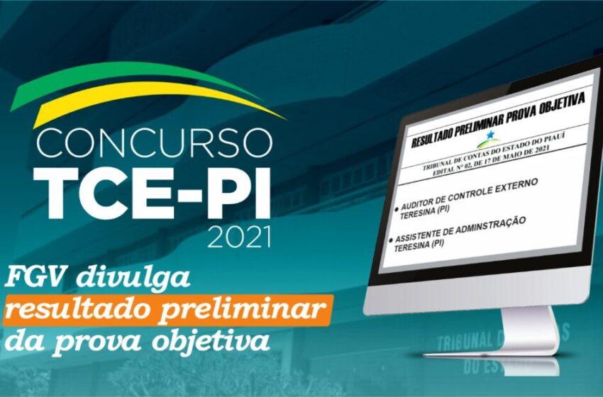 FGV divulga resultado preliminar do concurso do TCE-PI