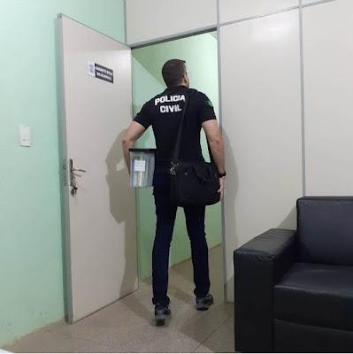 Delegacia Geral esclarece saída de Rodrigo Luna da delegacia de Parnaíba