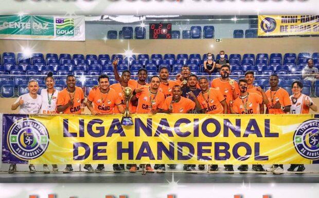 Cendrogas apoia equipe campeã da liga nacional de handebol masculino