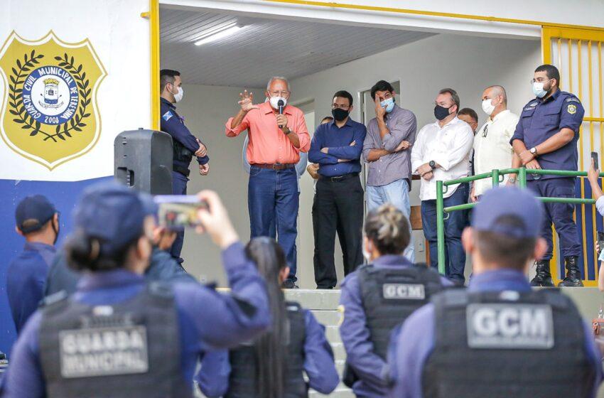 Doutor Pessoa inaugura 1º posto da Guarda Ambiental de Teresina
