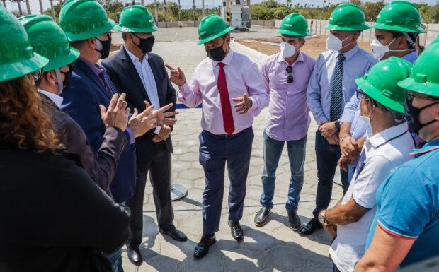 Wellington Dias participa de inauguração de subestação em Luiz Correia