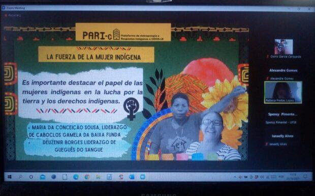 Rebeca Freitas apresenta pesquisa sobre os povos indígenas do Piauí em Universidade do México