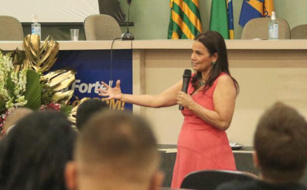 Sádia Castro abre o Fórum Piauiense de Segurança de Barragem