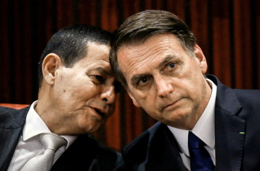 TSE libera para julgamento ações por cassação da chapa Bolsonaro-Mourão