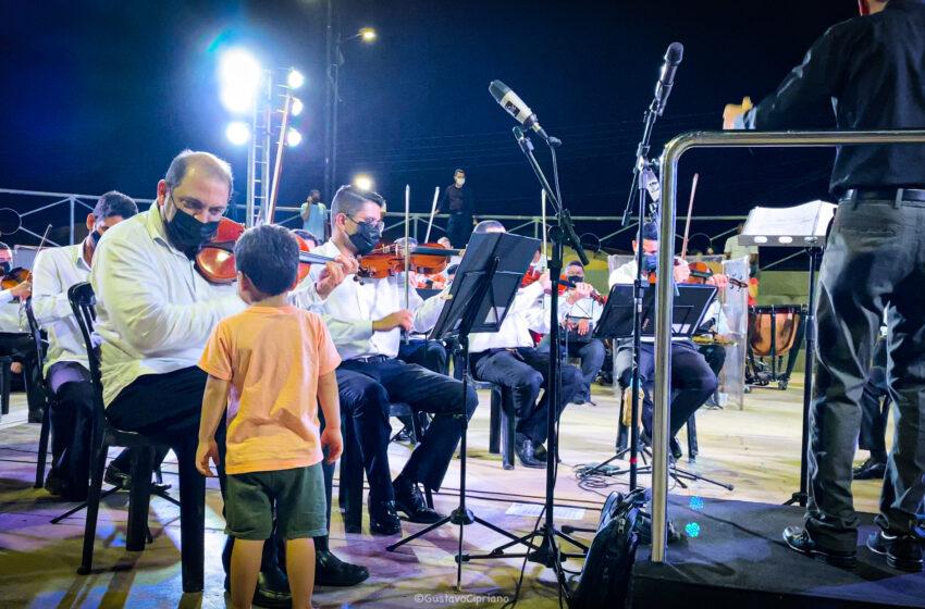 Orquestra Sinfônica de Teresina encanta crianças em concerto especial
