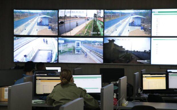 Secretaria de Educação e Polícia Militar fazem monitoramento eletrônico nas escolas
