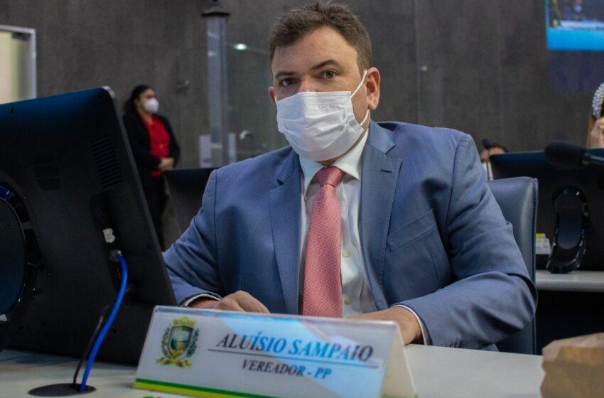 Vereador Aluísio propõe que servidores atuantes no combate a Covid-19 tenham acréscimo na aposentadoria