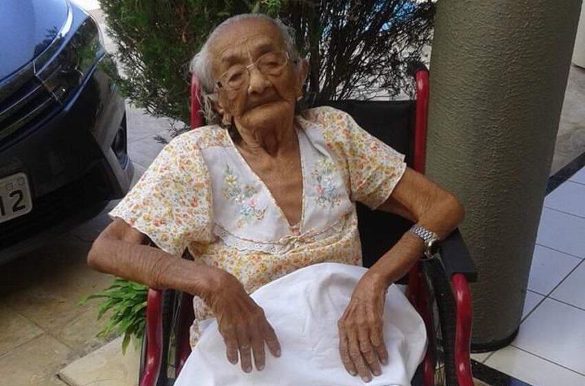 Pessoa mais velha do Brasil morre, aos 116 anos, em Fortaleza