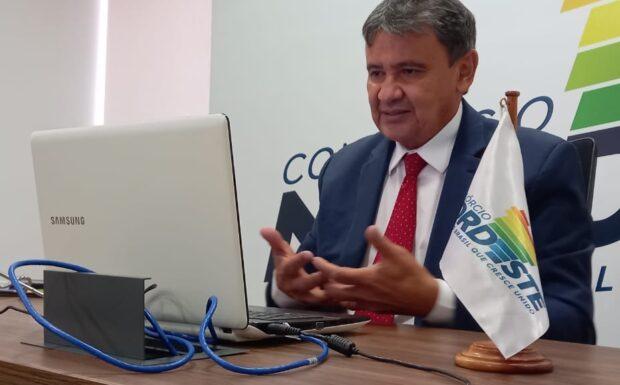 Wellington Dias discute preço da gasolina com Presidente do Senado